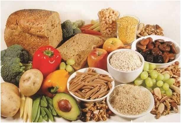Rich fiber food