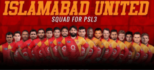 ISLAMABADUNITED Team For PSL-3