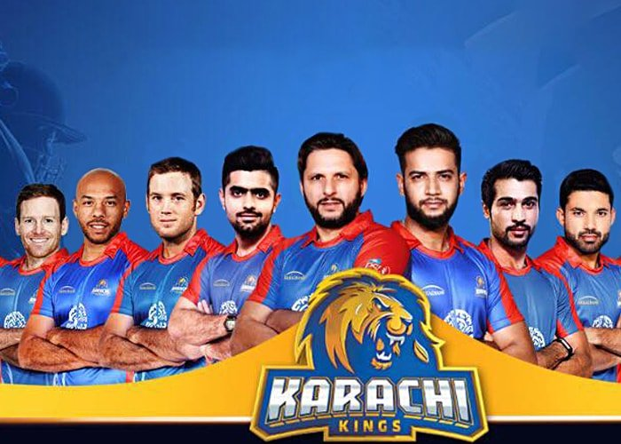 Karachi kings Team of PSL 2018