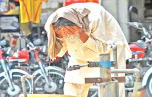 heat stroke in karachi